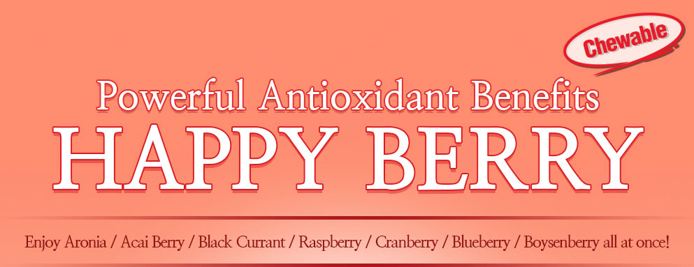 Powerful Antioxidant Benefits Happy Berry