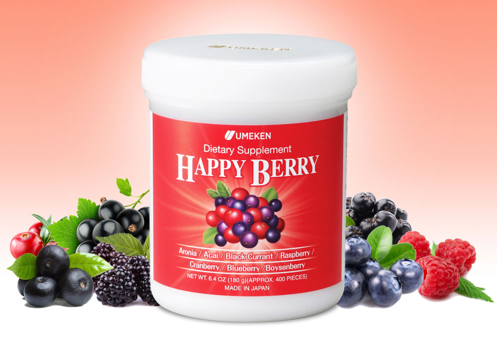 Enjoy Aronia, Acai Berry , Black Currant , Raspberry , Cranberry , Blueberry , Boysenberry all at once!