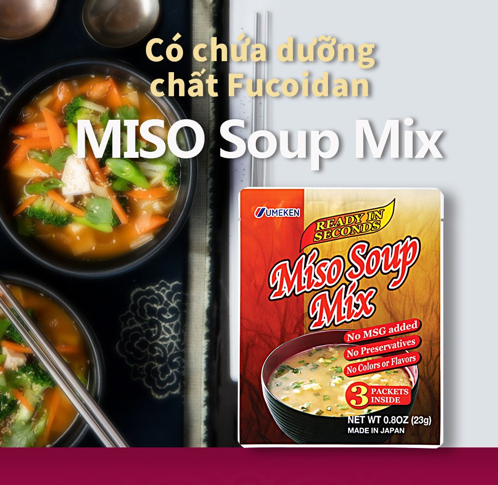 Miso Soup Mix