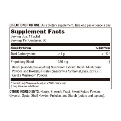 Reishi Extract Balls / 2 mth supply (60 packets)