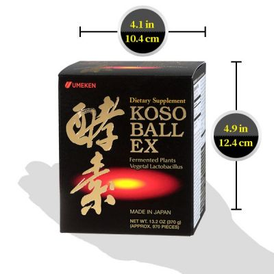 Koso Ball EX  - Enzyme / 4 mth supply (970 balls)