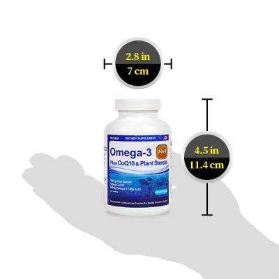 Omega3 + CoQ10 / 1 mth supply (60 tablets)